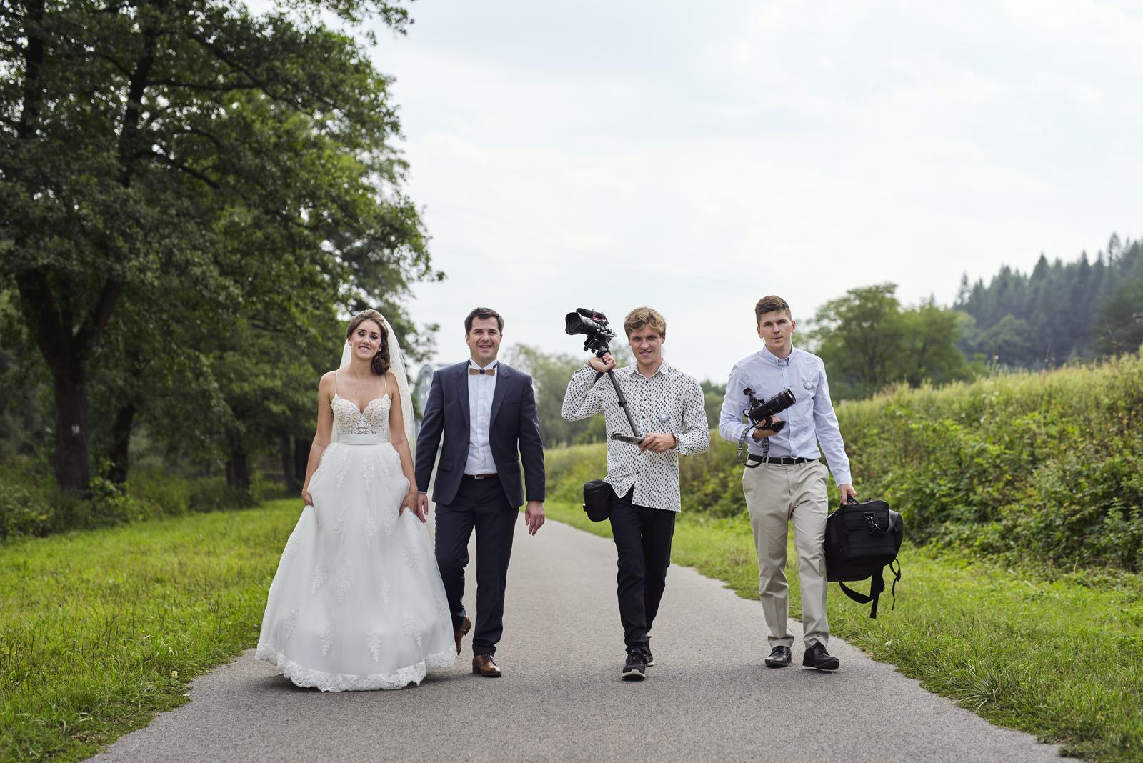 Svatební video - ... z natáčení s Věrkou a Rolandem