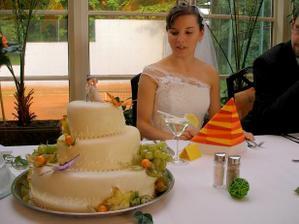 Dort s našimi jmény a datem svatby.
