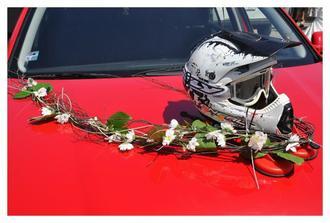 motokrosová helmička nesměla chybět :-)
