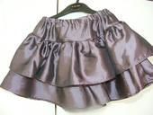 Tmavá fialová sukňa, 110