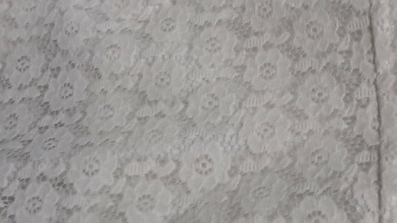 Krajkový overal krémový S/M, nenosený - Obrázok č. 4