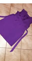 Tehotenské fialové šaty - Obrázok č. 3