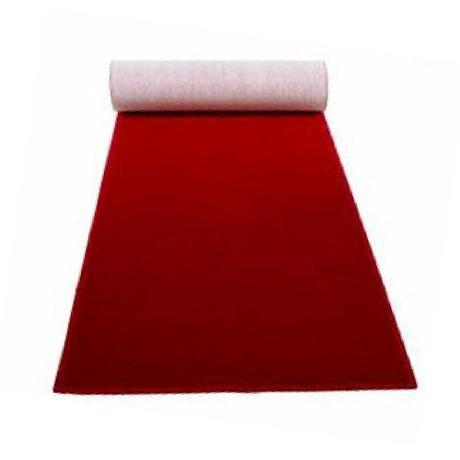 Červený svadobný koberec. - Obrázok č. 1