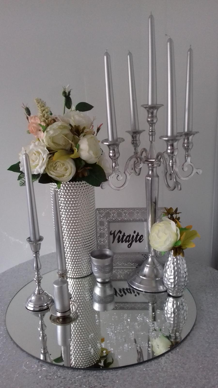 Prenájom svietnikov a váz. - Obrázok č. 1