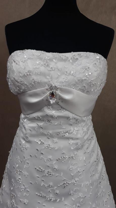 Svadobné šaty 34-36-38 - Obrázok č. 3