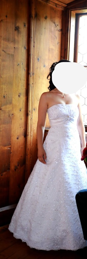 Svadobné šaty 34-36-38 - Obrázok č. 2