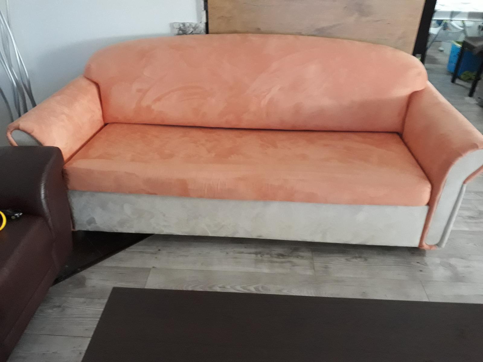 Rozkladacia sedačka - Obrázok č. 1