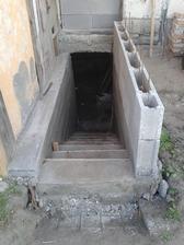 takmer hotové schody