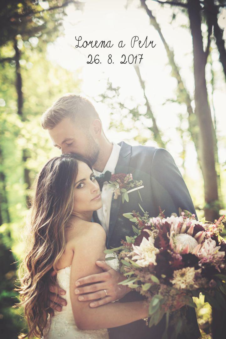 Svatba Čírtkovi 26.8. 2017 Štěnkov - Obrázek č. 1
