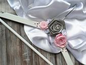 Ramínko pro nevěstu - růžová,
