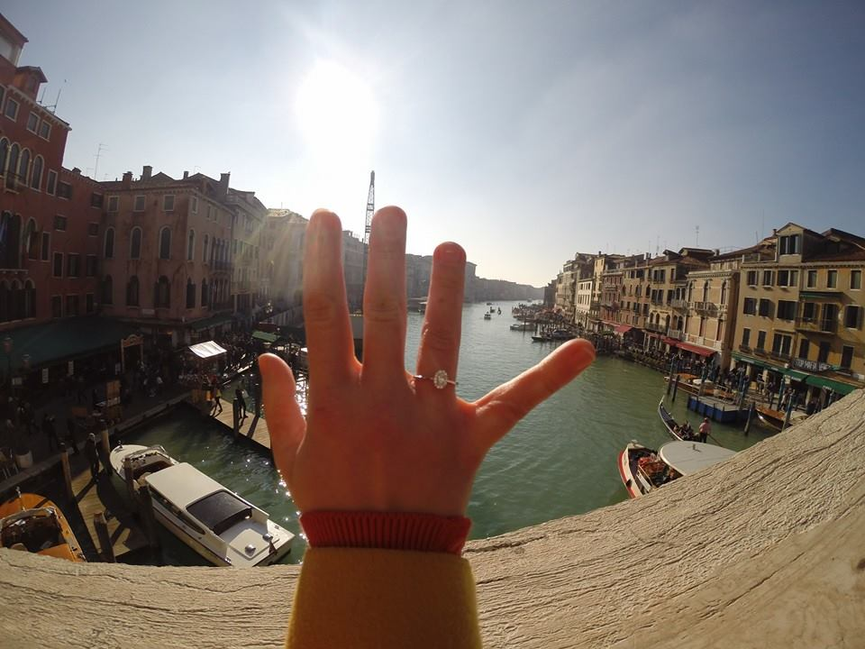 Na gondole v Benátkach.... - Obrázok č. 1