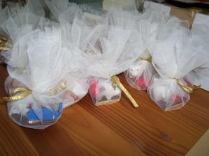 ..takéto boli darčeky pre hostí..:)