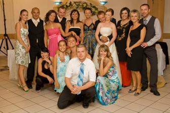 ..moja rodina, kámoši a všetci blízki...:)