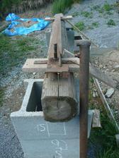 doma vyrobene zariadenie na ohybanie zeleznej vystuze-armovanie