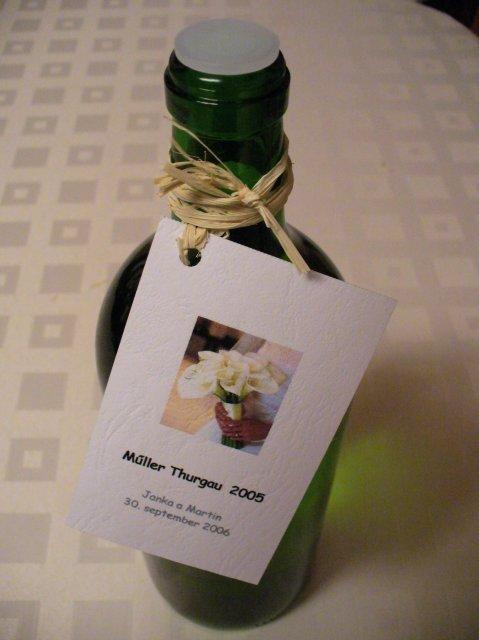 Jana a Martin - pokracovanie - Svadobne vino:-)