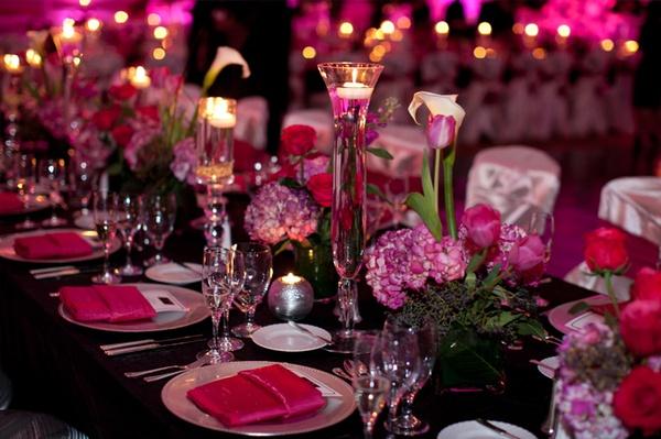 Fuchsiová svatba - Fotografie skupiny