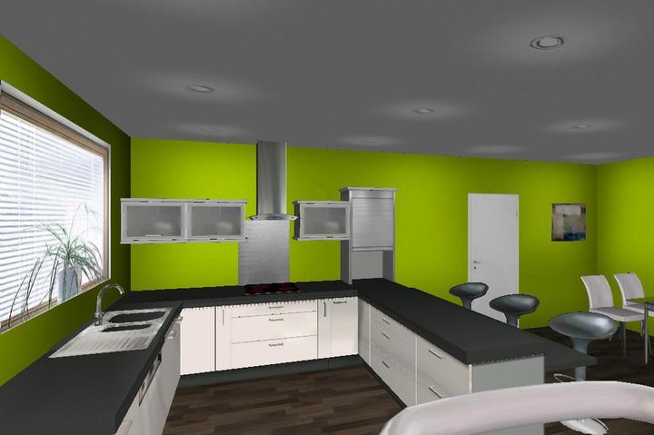 Vizualizacia kuchyne - Obrázok č. 1
