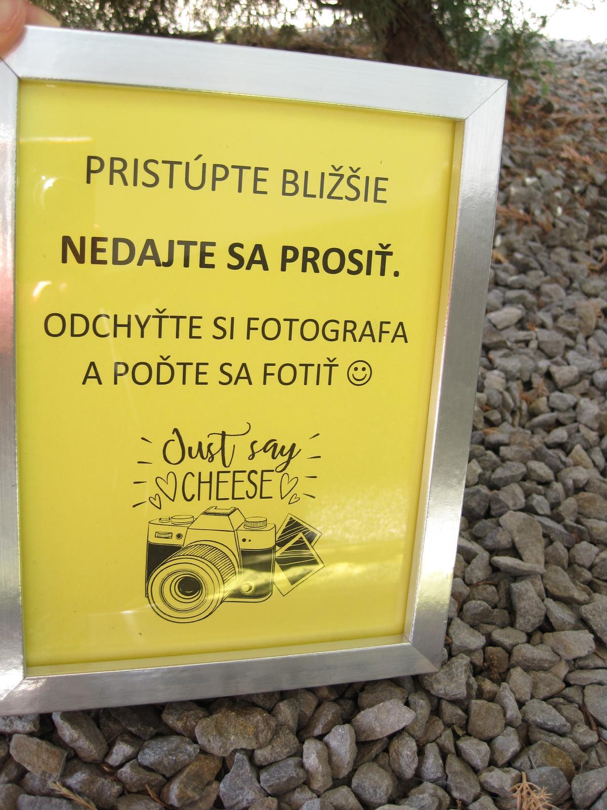 Fotorámiky k fotokútiku - Obrázok č. 1