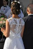 Cipkovane svadobne saty, 38