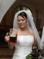 nevěsta s tuplákem
