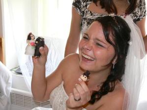 nevěsta utrhla ženichovi hlavu (to brzo:-)