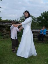 tanec s malým tanečníkem