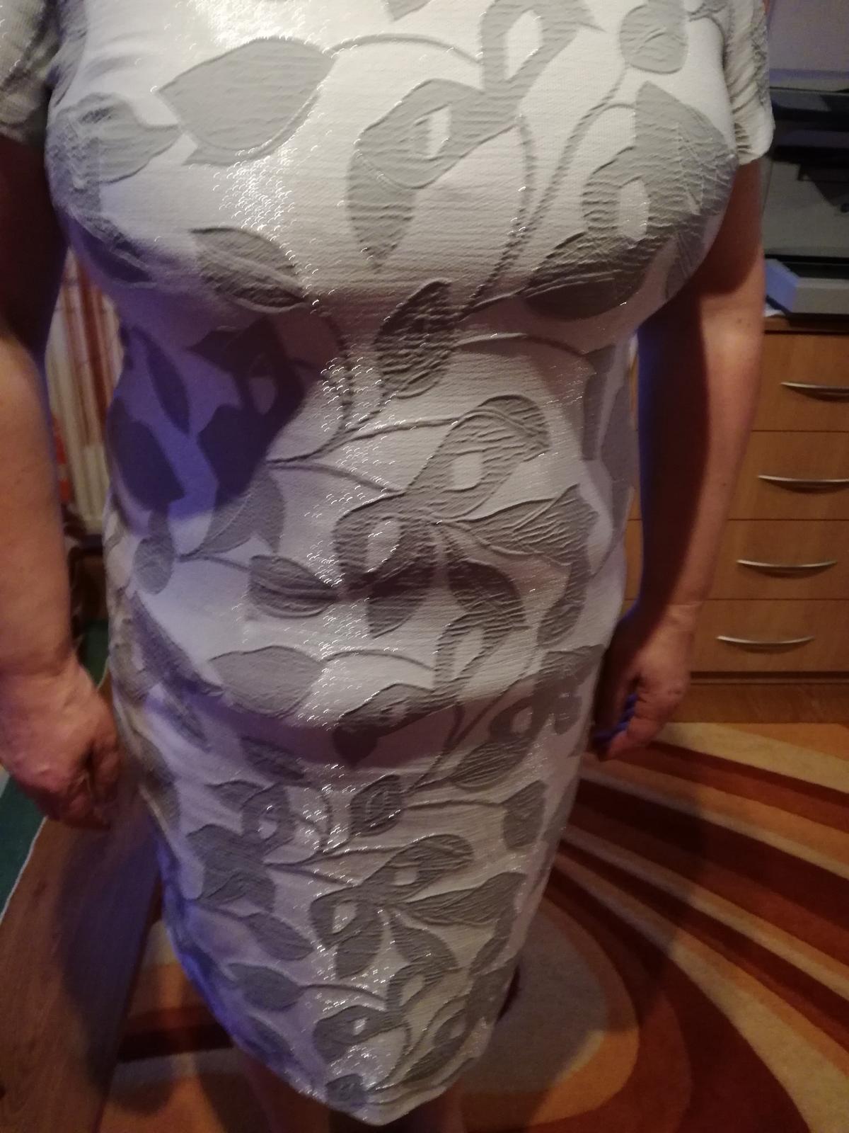 Šedé šaty - Obrázok č. 1