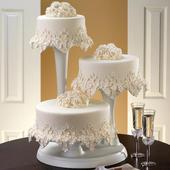 Stojan na tři dorty,