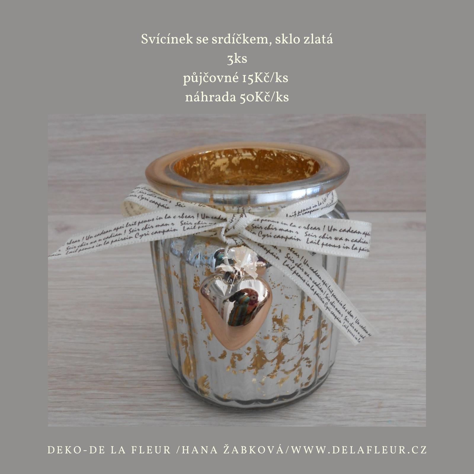 Deko-De la Fleur půjčovna dekorací - Obrázek č. 46