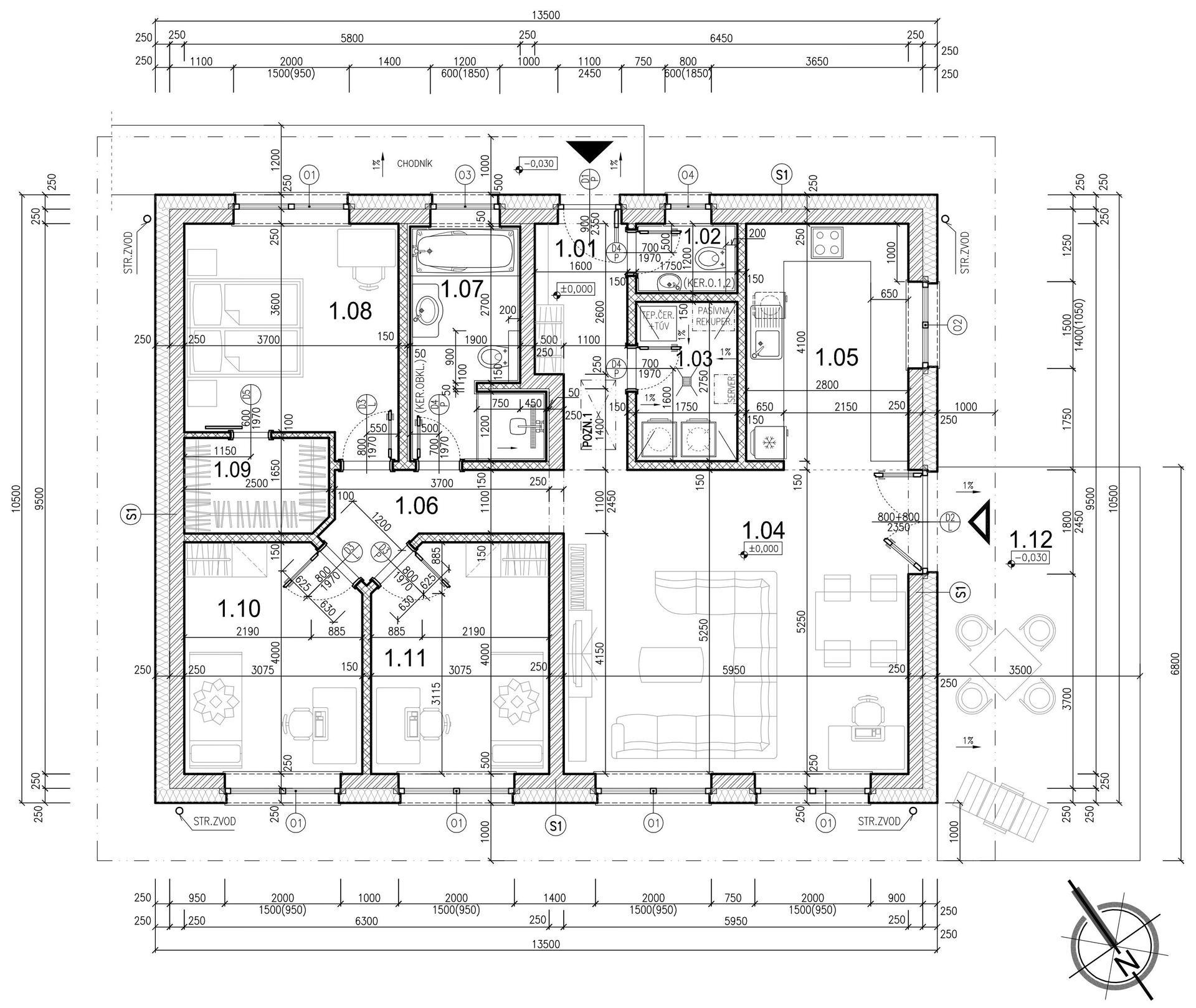 Hruba stavba - doska
