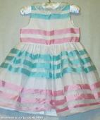 Společenské šaty vel. 18-24 měsíců, 92