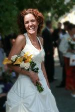 dobře vysmátá nevěsta :)