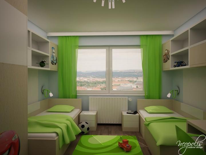 Detská izba pre naších chalanov :-) - Krááááááááááááááááásne :-)