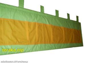 Tak takéto nejaké mantinely by mali byť okolo postelí, len tú oranžovú tam asi nedám :-)