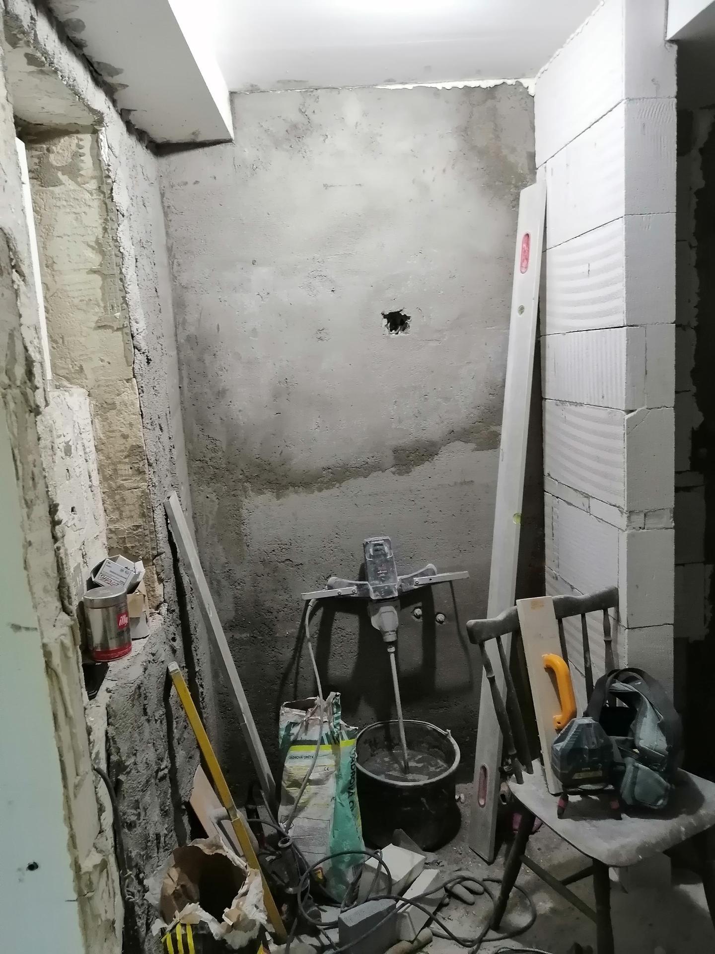 Rekonstrukce koupelny - Obrázek č. 9