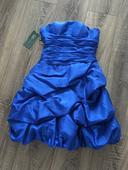 Spoločenské šaty modré, 34
