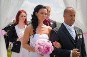 svatební oblek zn. Bandi, 54