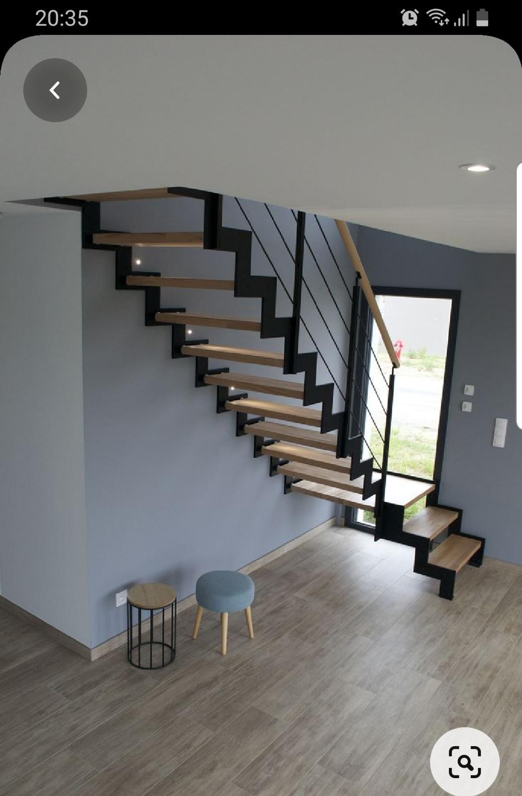 Podkroví - Moje představa schodů 👍