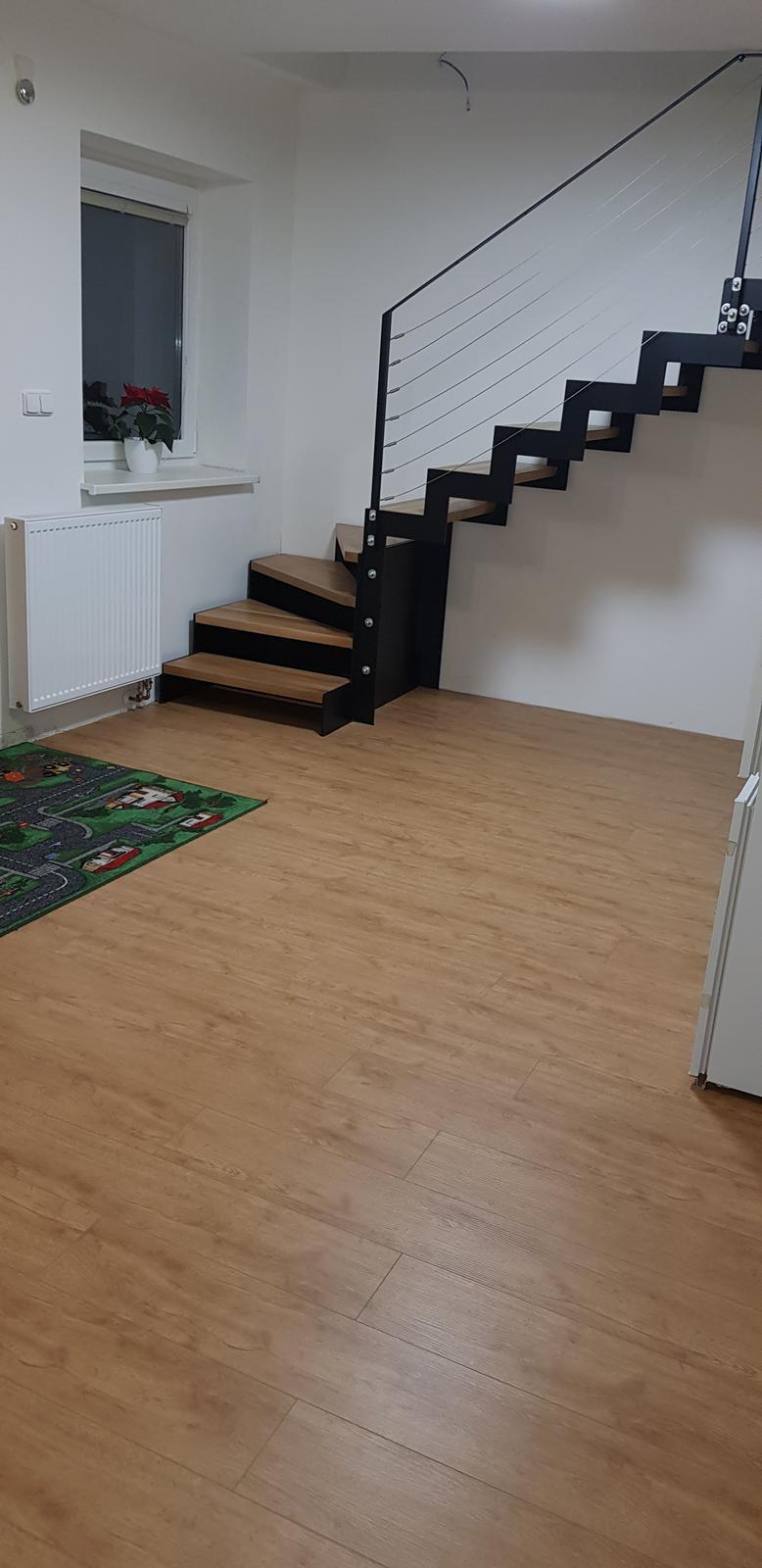 Podkroví - Položená podlaha