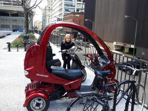 Takové vozítko by se mi líbilo.