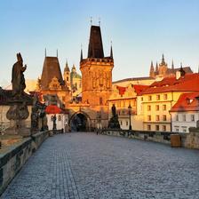 Praha-Na Karlově mostě.