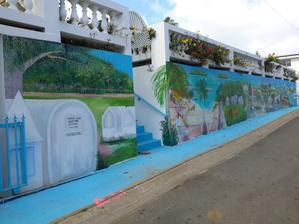 Takto si Portoričané vyzdobili malbami ulici.