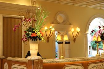 Pro inspiraci jsem si nafotila výzdobu v luxusním,elegantním hotelu Bellagio v italském stylu v Las Vegas.