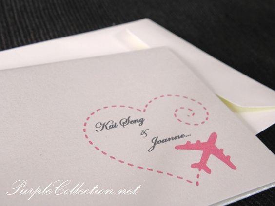 Naša malá letecká svadba ✈✈✈ <3 - Inšpirovala som sa touto pečiatkou