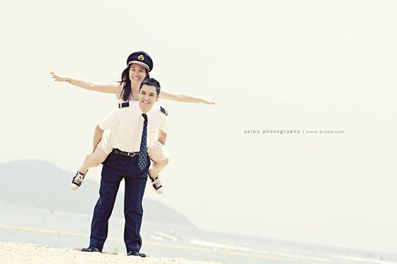 Naša malá letecká svadba ✈✈✈ <3 - už sa tešíííím na svadobné fotenie pri lietadle....