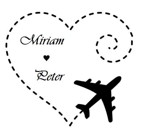 Naša malá letecká svadba ✈✈✈ <3 - krásna pečiatka, však?