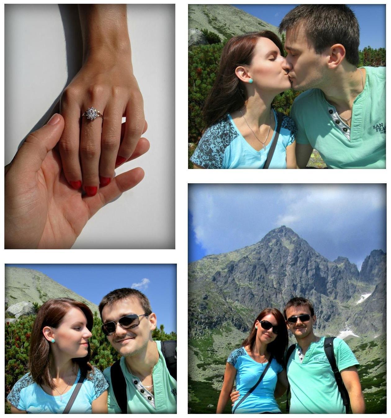 Naša malá letecká svadba ✈✈✈ <3 - Naše romantické zásnuby v Tatrách pred dvoma rokmi <3
