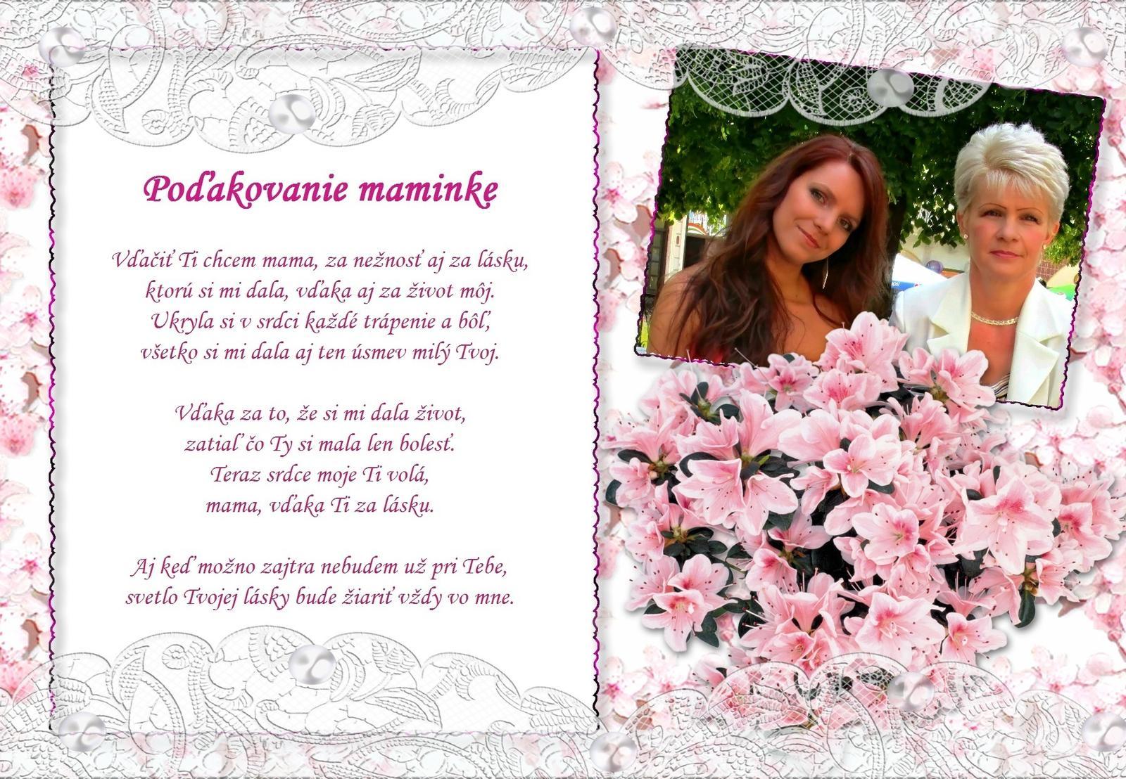 Naša malá letecká svadba ✈✈✈ <3 - Už len vytlačiť a zarámovať :-) Tento text som vybrala preto, lebo ho budem spievať maminke v kostole :-) Nech to má aj ružové na bielom :-D :-D