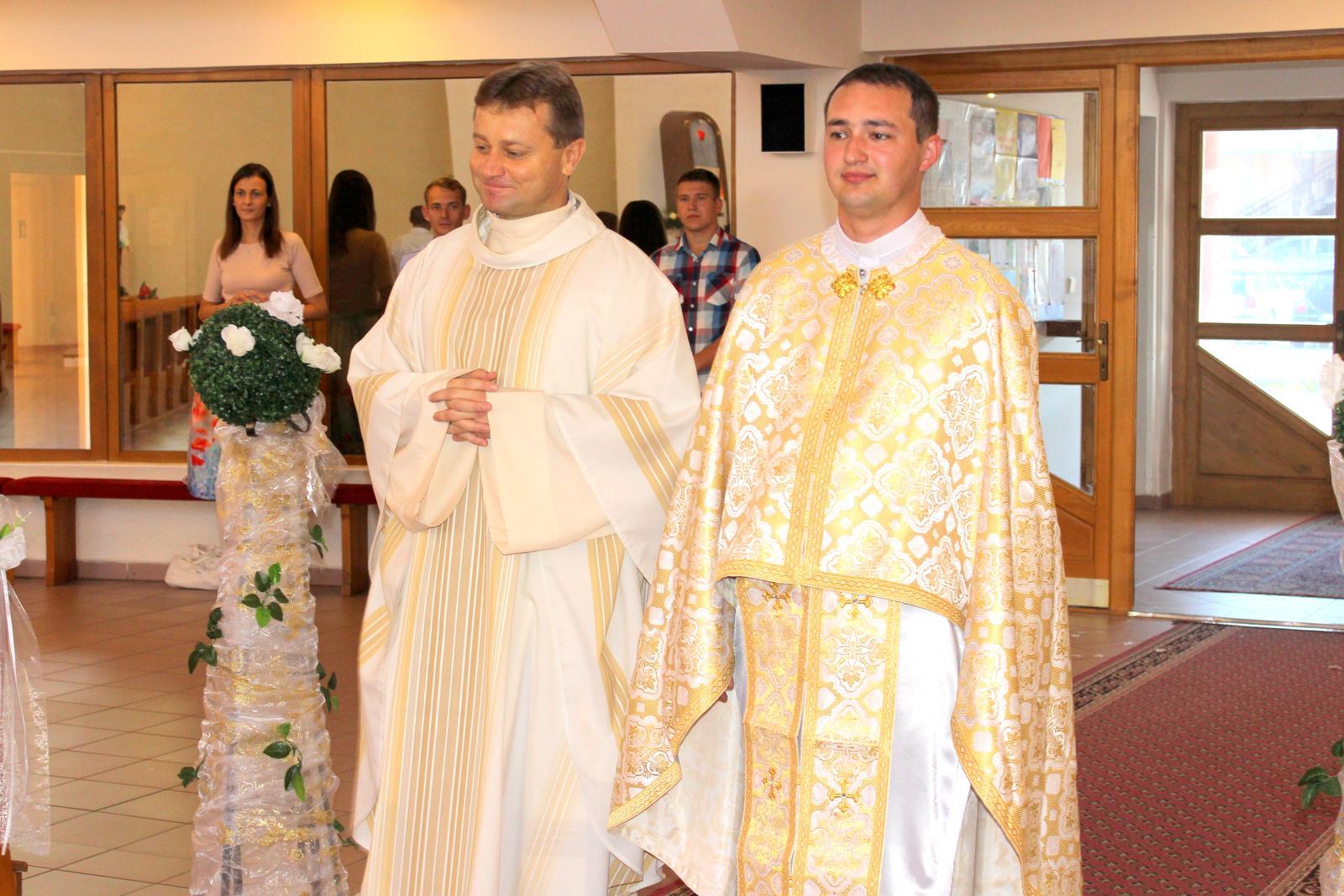 Miriam a Peter - Najlepší kňazi pod slnkom :-)