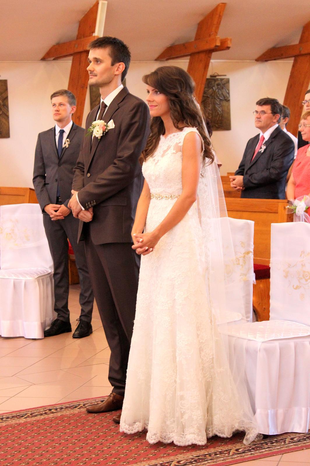 Miriam a Peter - Pred oltárom opadli všetky stresy...